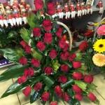 virágkosár, ajándékkosár