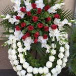 Exkluzív koszorú készítés: 3 fajta virágból